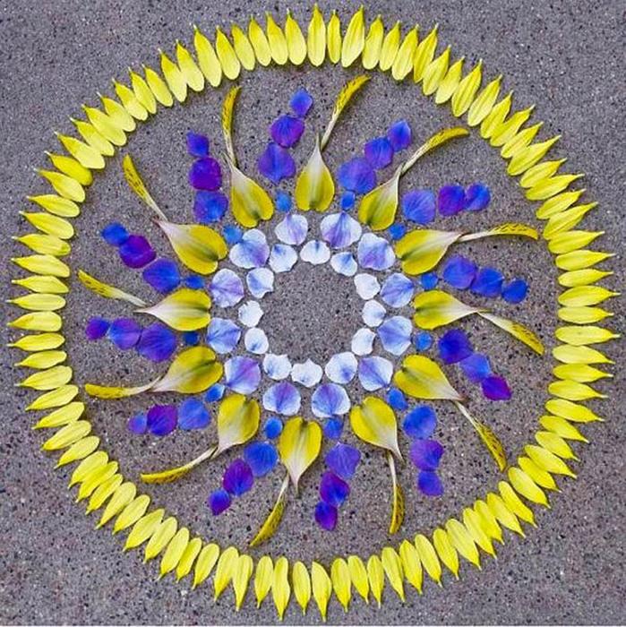 цветочные мандалы фото (699x700, 245Kb)
