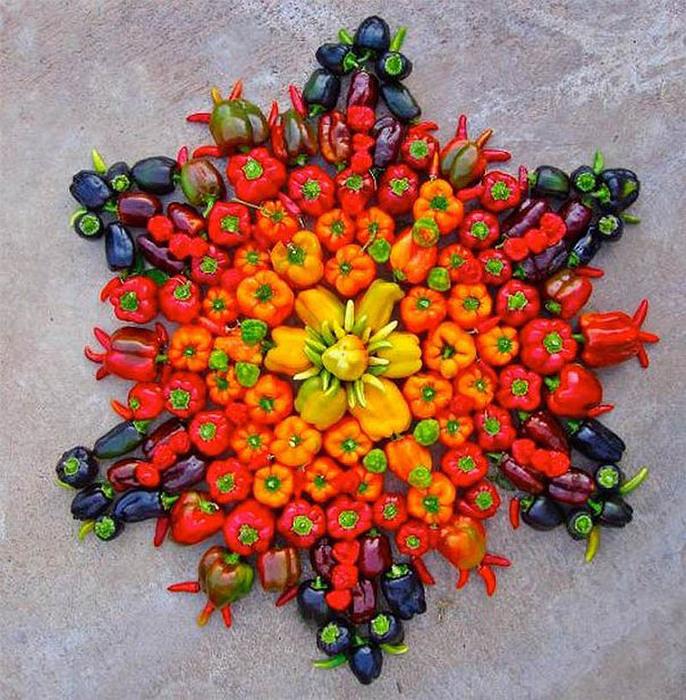 цветочные мандалы фото 7 (686x700, 220Kb)