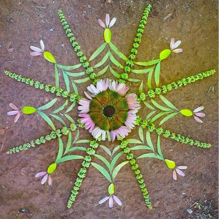 цветочные мандалы фото 28 (700x699, 219Kb)