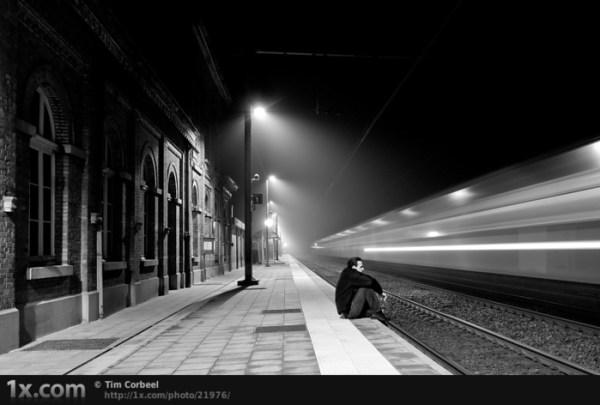 Урок фотошопа: Заставил поезд двигаться... от vitkuz ...