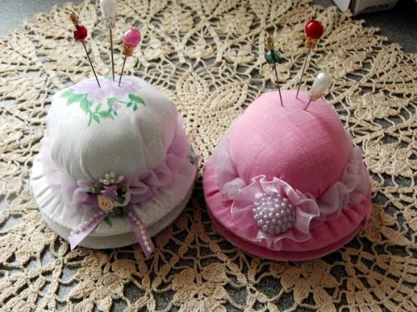 Игольница - шляпка