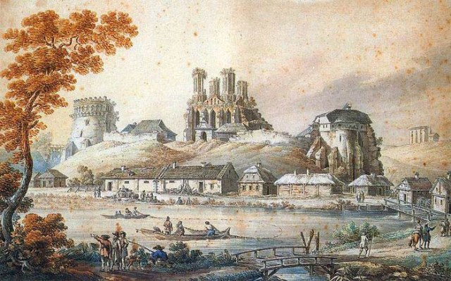 Z._Vogel._Castle_of_Ostroh (700x436, 90Kb)
