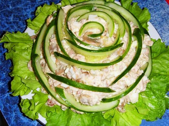 Картинки по запросу декорирование салатов