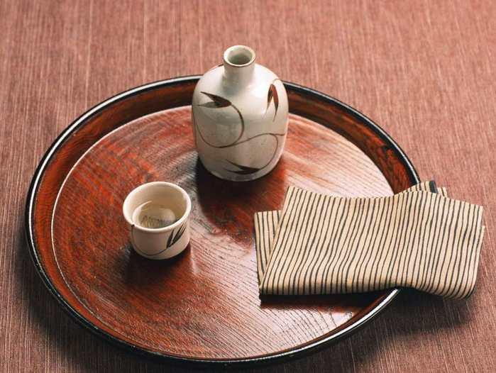 Японский напиток сакэ