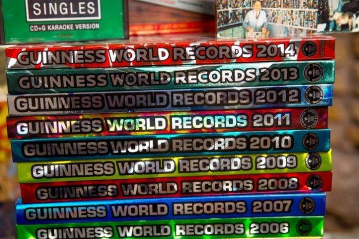 Как попасть в Книгу рекордов Гиннесса с помощью... Книги рекордов Гиннесса