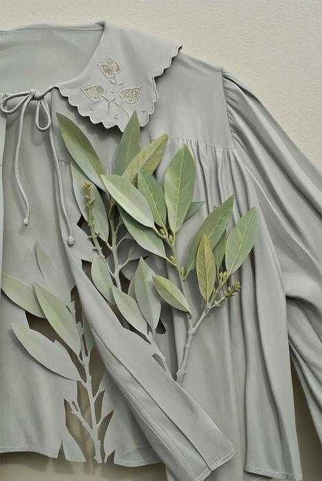 Рон Айзекс   натюрморты из предметов гардероба