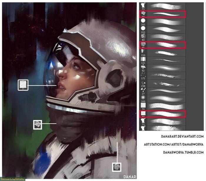 Лучшие фотошоп кисти для компьютерной графики