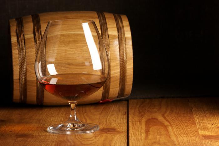 Коньяк Бастион из винограда Уни Блан