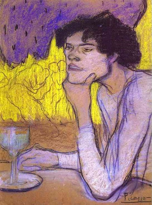 Пабло Пикассо и его любительницы абсента