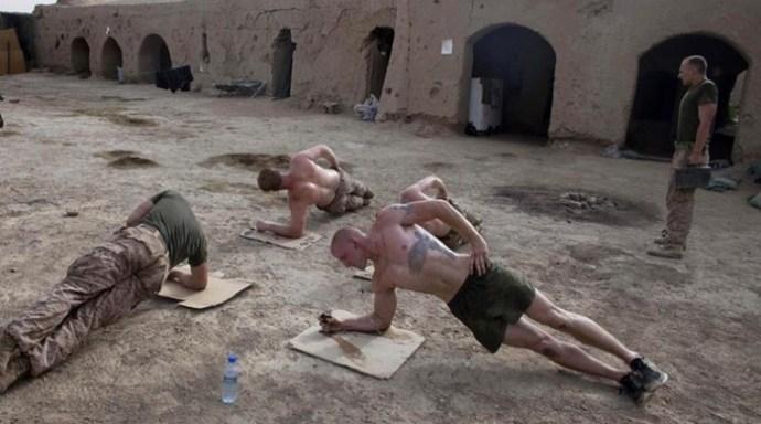 Эффективные упражнения от американских морпехов