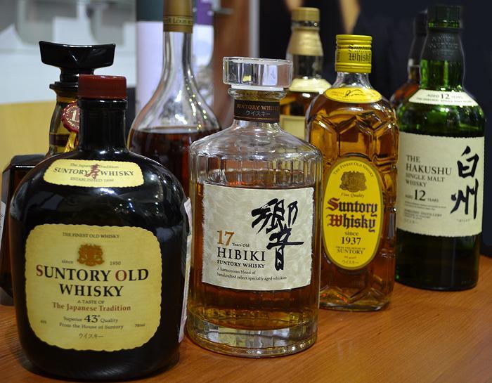 Японский виски Suntory   самый молодой виски в мире