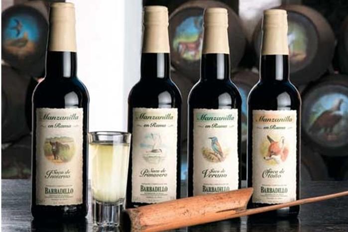 Великолепное испанское вино херес