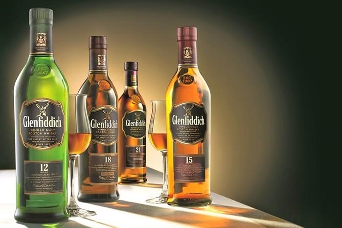 Виски Glenfiddich: производство, основная коллекция и редкие сорта