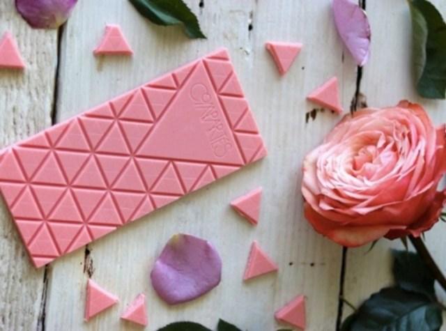 Создан новый вид шоколада из рубиновых какао бобов