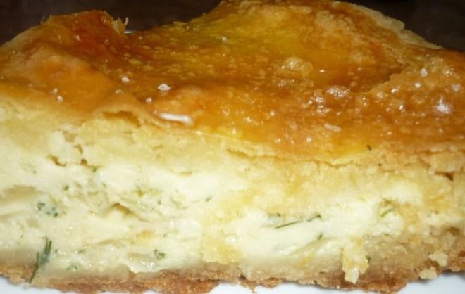 Пирог из плавленных сырков