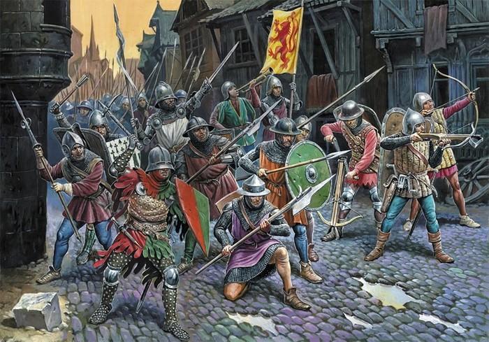 Картины эпических битв