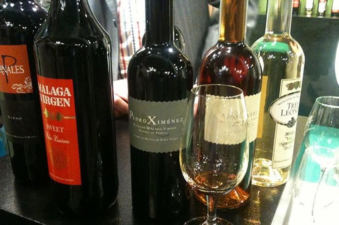 «Горное вино»   испанская малага