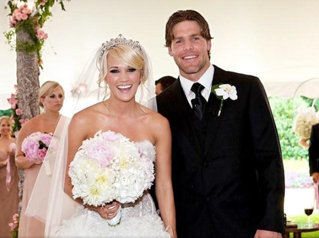Невесты знаменитости в день своей свадьбы