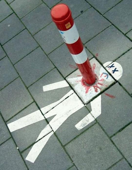 Вандализм или стрит арт?