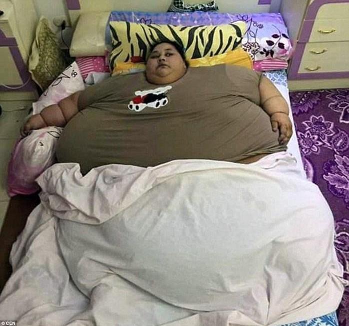 В ОАЭ скончалась самая тяжелая женщина
