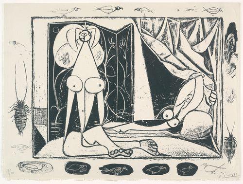 Эротические картины старого Пикассо покажут только совершеннолетним