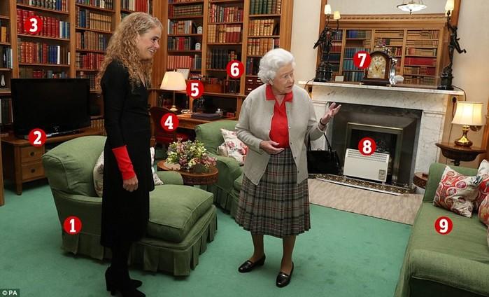 В гостях у королевы