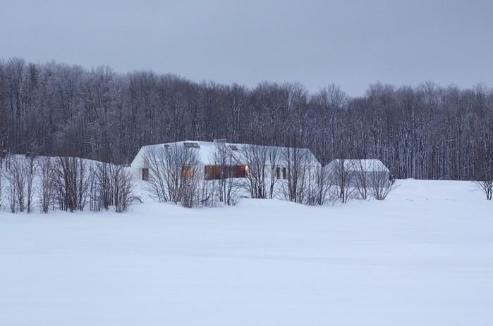 Загородный дом для семьи из шести человек в Канаде