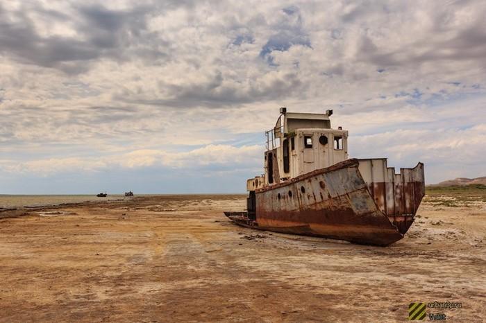Необычные кладбища. Куда уходят корабли?