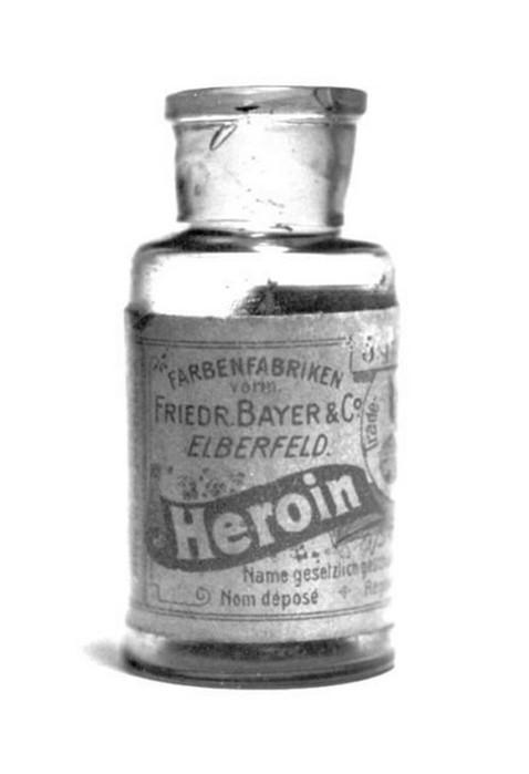 Как в начале прошлого века пациентов лечили героином