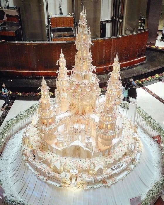 Невероятные свадебные торты, созданные семейной кондитерской Le Novelle Cake