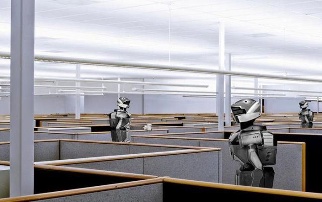 Роботы в офисах