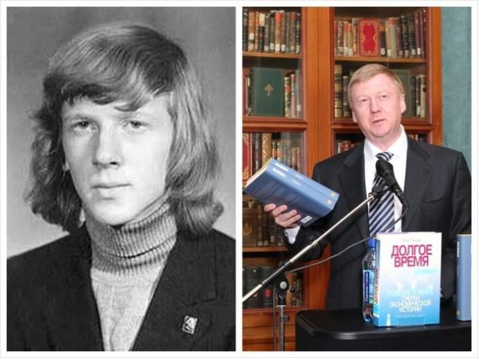 Известные политики в молодости