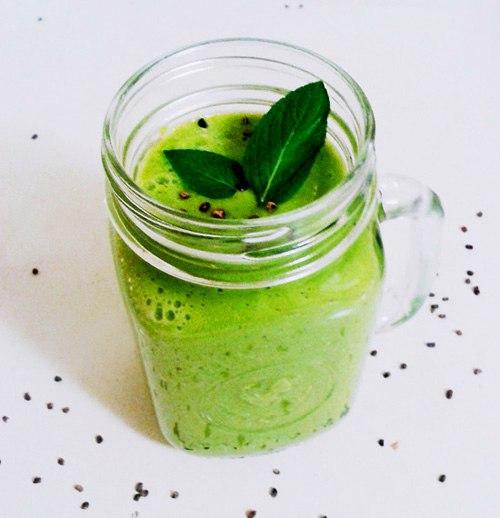 10 зеленых смузи для очищения организма