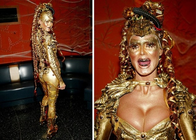 Хайди Клум – королева Хэллоуина