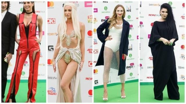 Самые безвкусно одетые знаменитости на премии Муз ТВ 2017