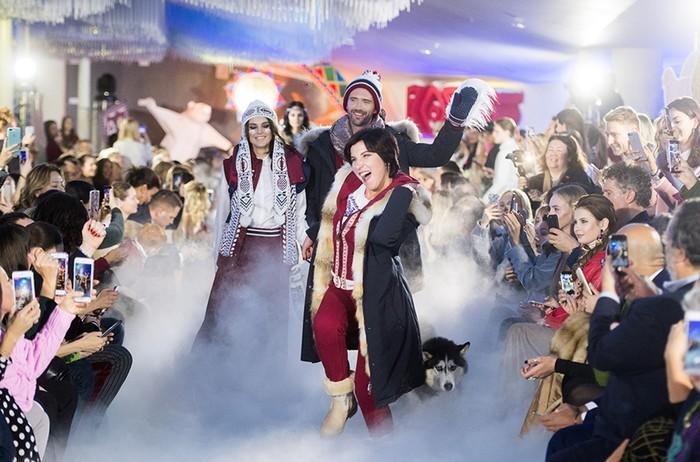 Татьяна Навка и другие звезды на подиуме показа BoscoFresh в парке «Зарядье»