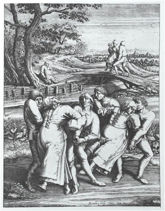 Безумная пляска святого Вита: танцевальная лихорадка хореомания в Средневековье