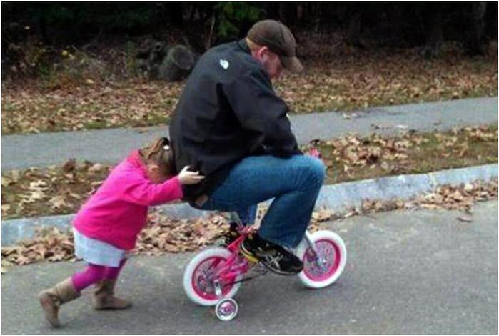 Отношения отцов и их маленьких дочурок— 17 трогательных фотографий