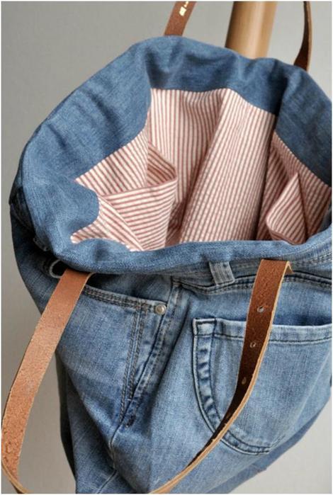 Стильно и бюджетно: 17 крутых идей по переделке старых джинсовых вещей