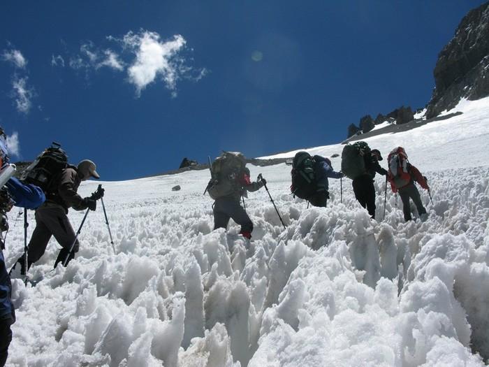 Удивительные «кающиеся снега» в Чили, которые открыл молодой Дарвин