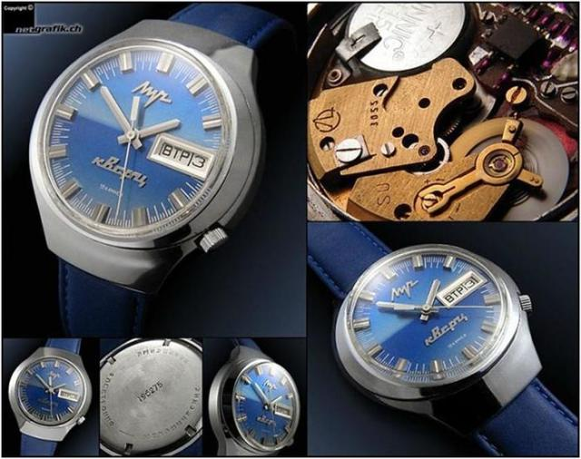 Самые крутые советские часы