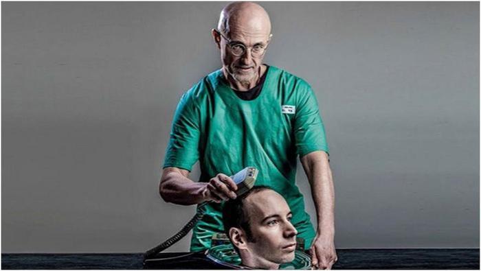 Итальянский нейрохирург пересадил голову человека