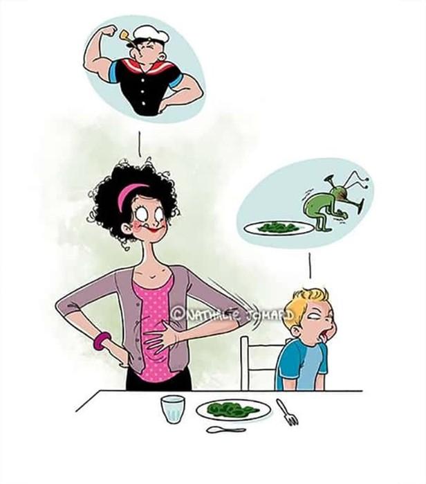 25 смешных и честных комиксов, которые показывают жизнь молодых мам как она есть