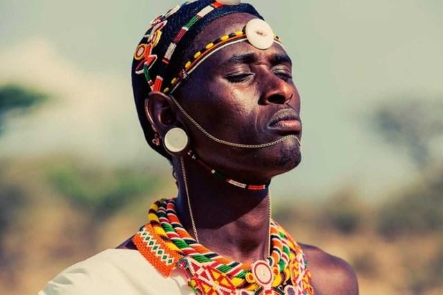 Родственники масаев   кочевое племя самбуру из Кении