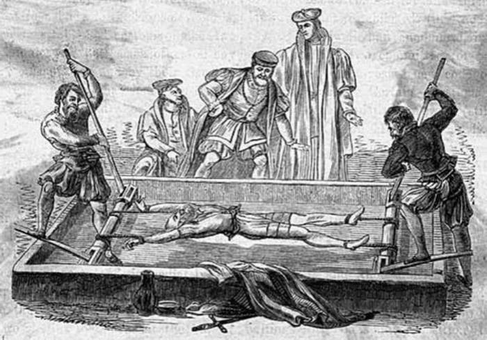 Какие пытки придумали русские