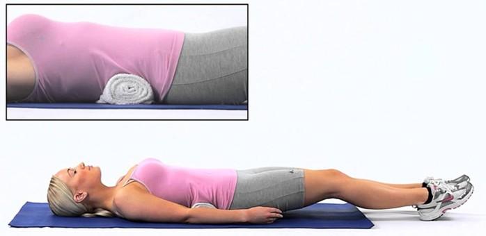 Этот простой трюк избавит от болей в спине, улучшит осанку, уменьшит талию всего за 5 минут!