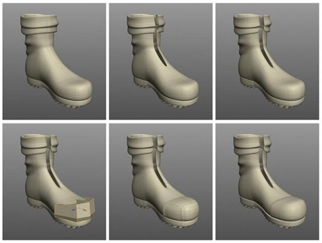 Процесс создания 3D картинки на основе рисунка