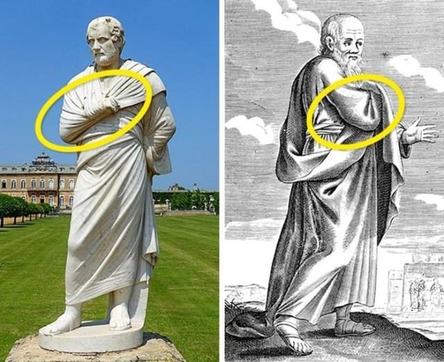 5 простейших объяснений, почему они все прятали руку под одеждой