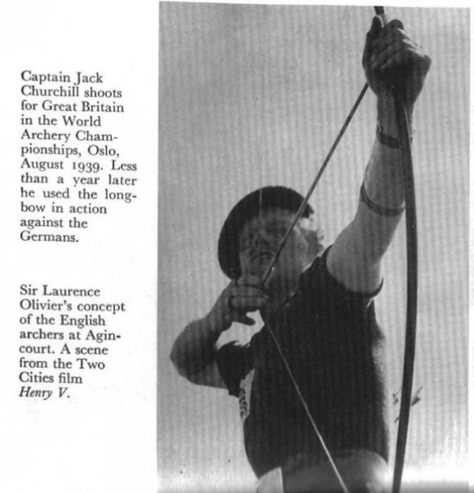 Джек Черчилль— безумный лучник Второй мировой войны