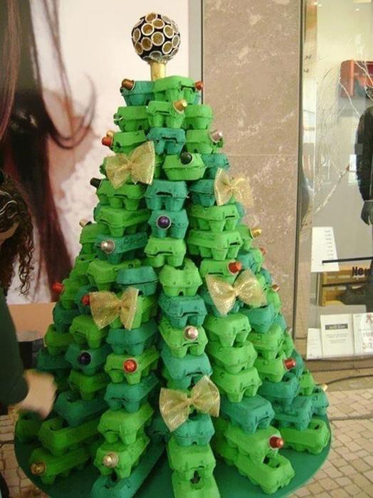 Простые идеи, как сделать новогоднюю елку своими руками